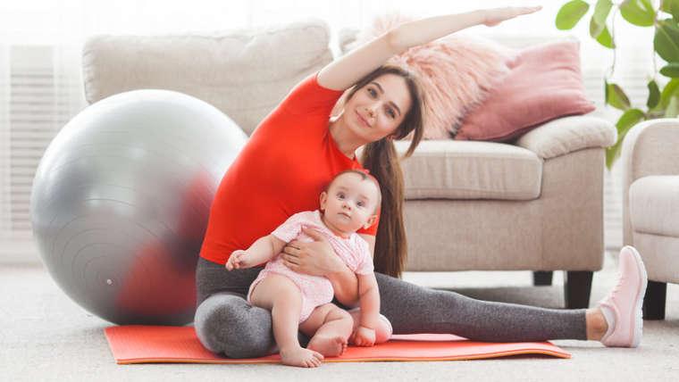 Faire de la gym avec bébé