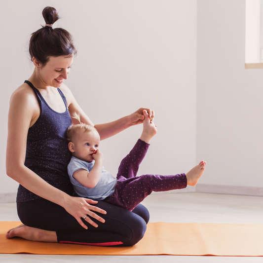 Cours de massage avec les enfants