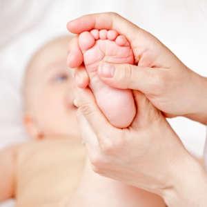 Réflexologie bébé