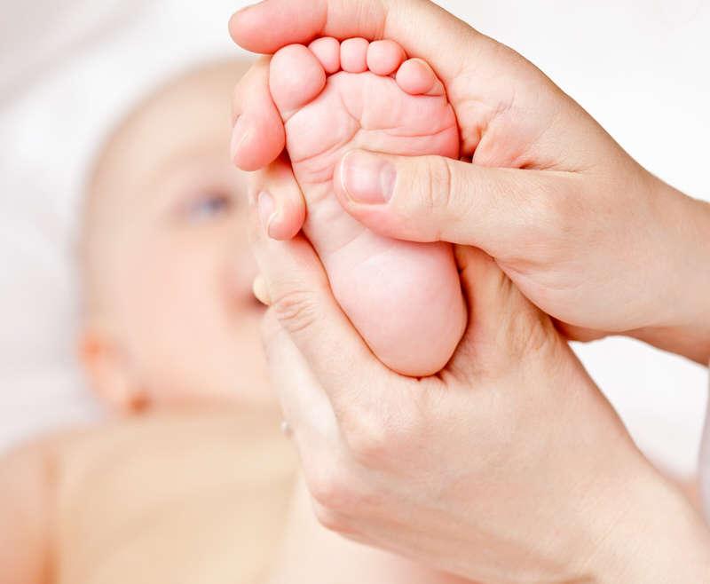 A quoi sert la réflexologie pour les bébés ?