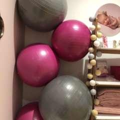 Ballon gym femme enceinte