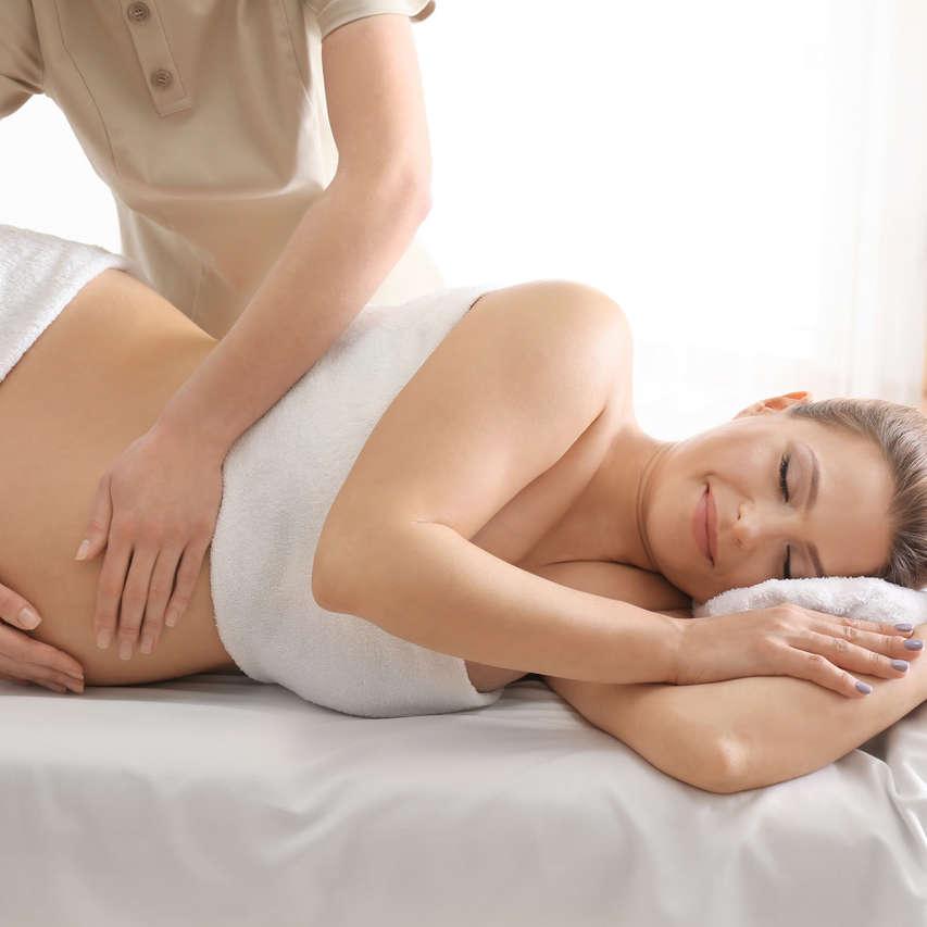 Massage femme enceinte prénatal